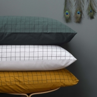 Funda de almohada oscar mostasa 50x70
