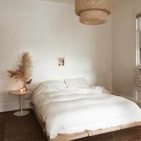 Funda nórdica de algodón lavado  Es muy muy muy suave!  Súper fácil de lavar a 30% y sin planchar: estilo lino arrugado.  Os encantará!  Color blanco