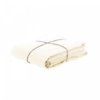 Funda nórdica de lino blanco marfil 140x200
