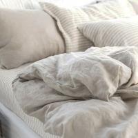 Funda almohada lino 65x65 ficelle