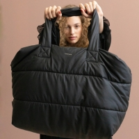 big puffy weekend bag