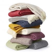 Manta ralph marfil 100% lana eco