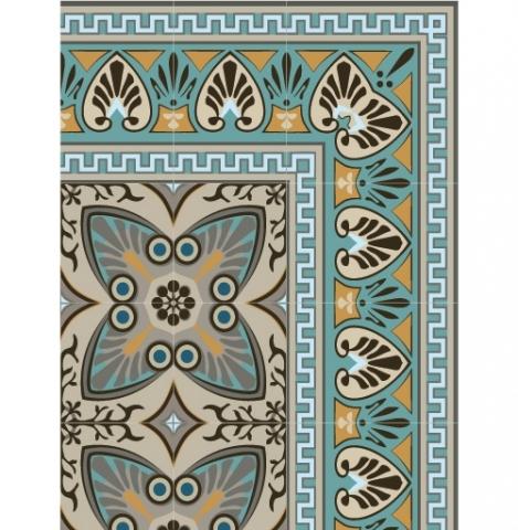 Detalle Alfombra bella authentic 60x100cms