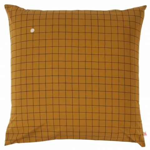 Funda de almohada oscar mostasa 63x63