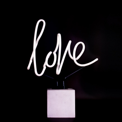 NEON light love