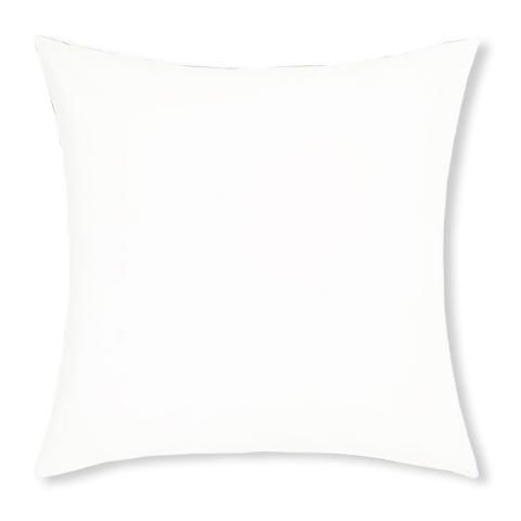 Funda almohada 65x65 blanco nieve