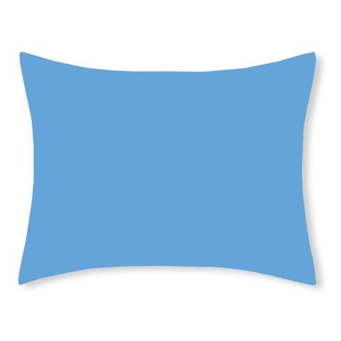 Funda almohada 50x70 azul topaz