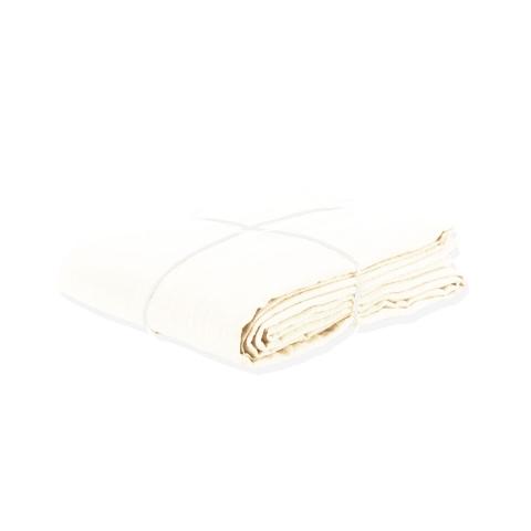 Funda nórdica de lino color nieve 140x200
