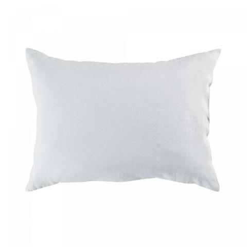 Funda almohada lino 50x70 blanco