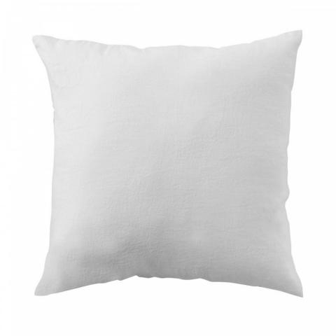Funda almohada lino 65x65 blanco