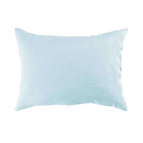 Funda almohada lino 50x70 aqua