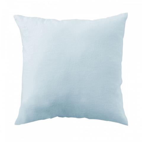 Funda almohada lino 65x65 aqua