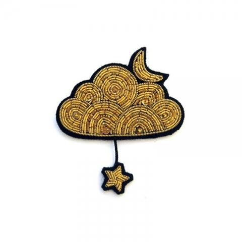 Broche Nube dorada