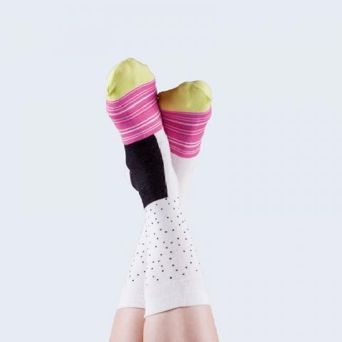 Calcetines maki Blanco