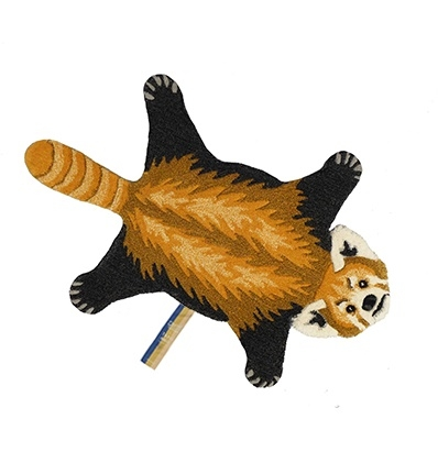 Alfombra Panda rojo