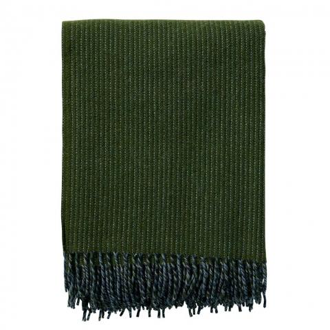Manta lana Shimmer Verde