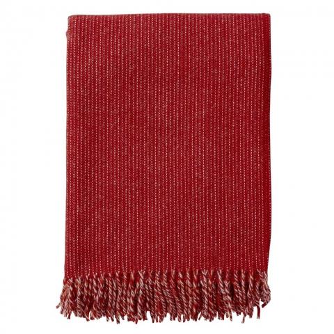 Manta lana Shimmer Roja