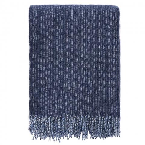 Manta lana Shimmer Azul