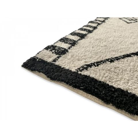 Alfombra Berber 120x170 cenefa