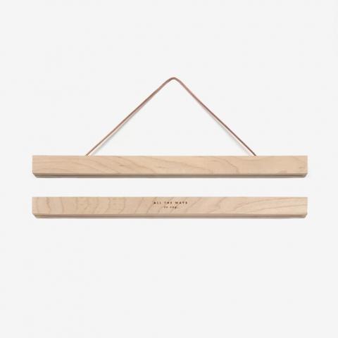 Liston de madera mediano con iman