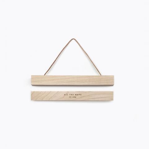 liston de madera pequeños con iman