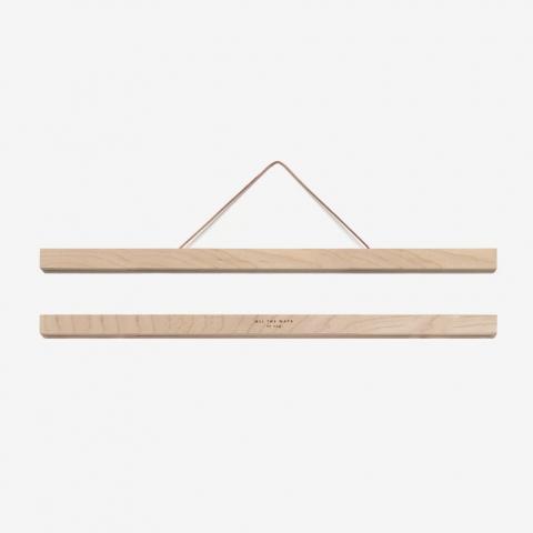 Liston de madera grande con iman