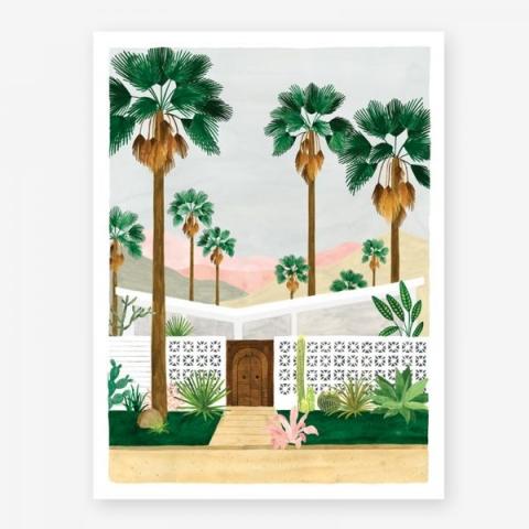 Lámina Palm Pequeña 18x24