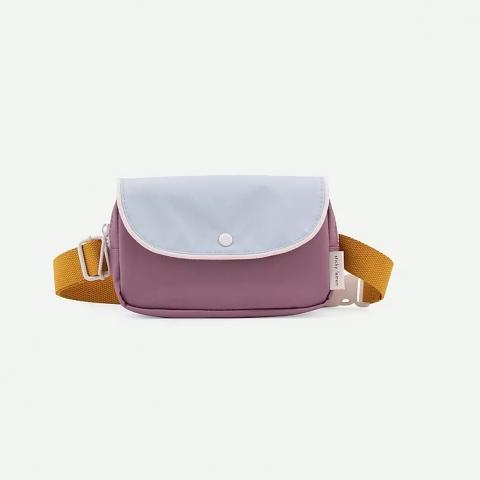 Riñonera violeta-azul