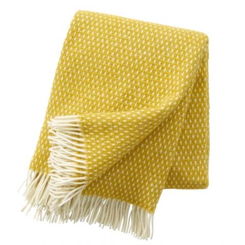 Manta lana Knut amarillo