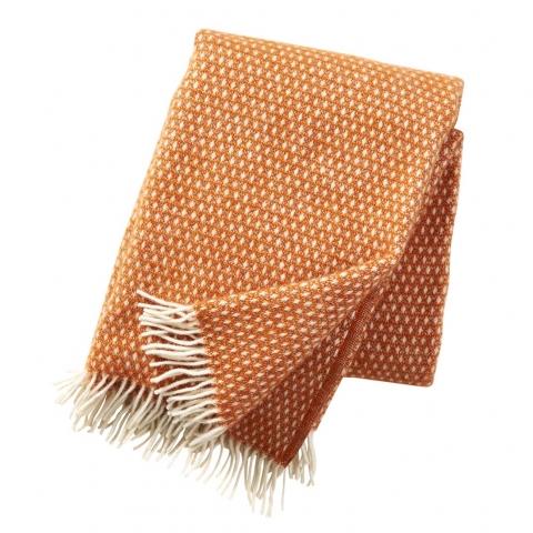 Manta lana Knut orange