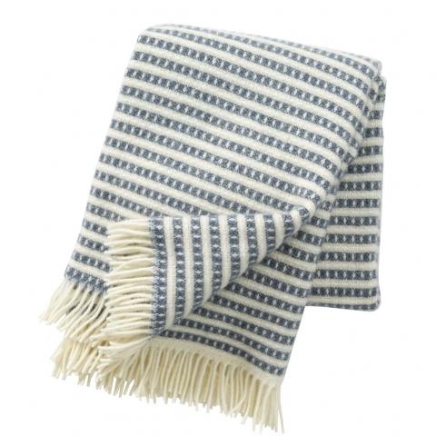 Manta lana Olle blue