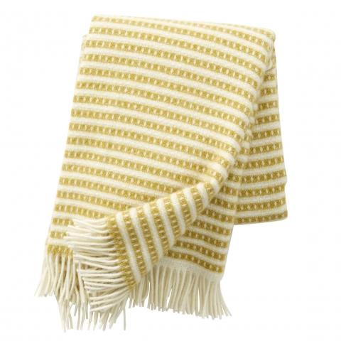 Manta lana Olle yellow