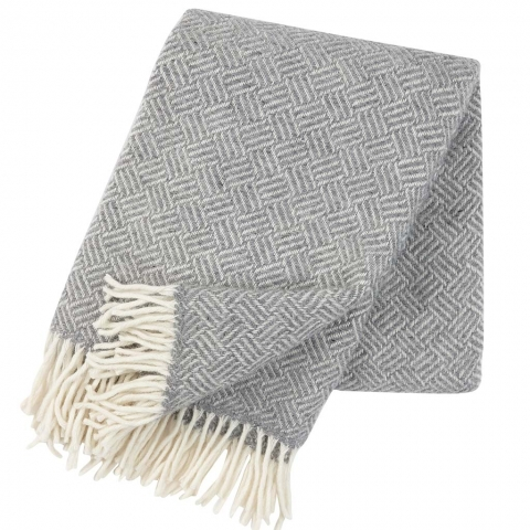 Manta lana Samba grey