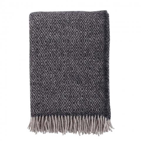 Manta lana Stella grey