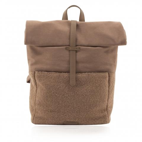 Mochila Herb backpack wool cacao