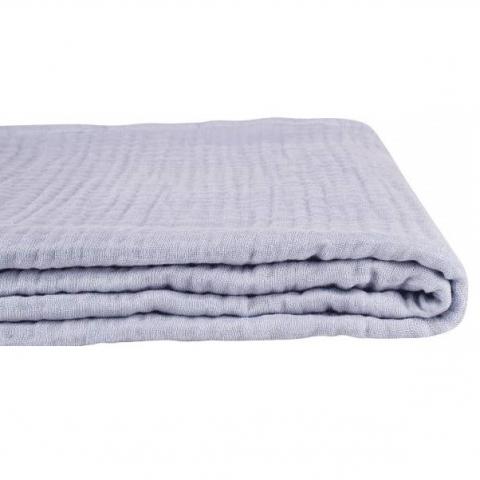 Manta algodón orgánico Lavender