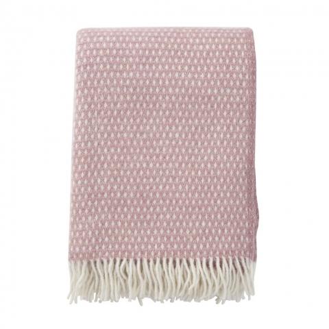 Manta lana Knut pink