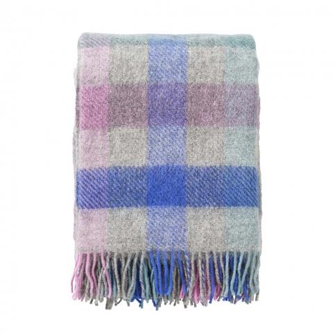 Manta lana Gotland pastel