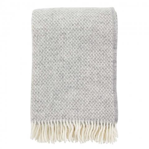 Manta lana Preppy grey