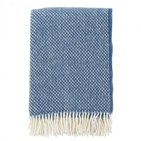 Manta lana Preppy blue
