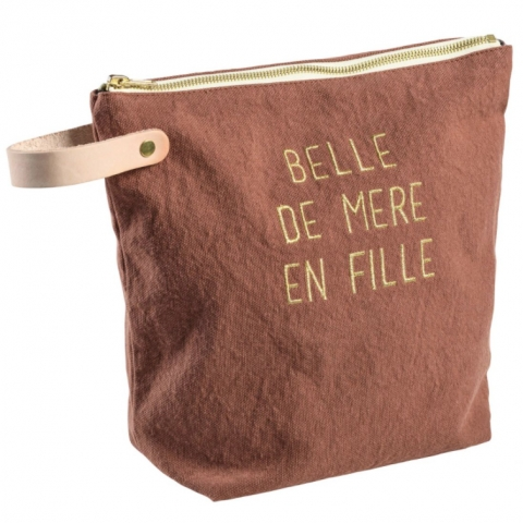 Neceser Belle Rhubarbe